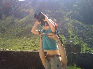 micro adventure searching for deer in Glendalough