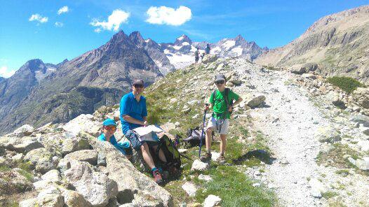 Summer alpine adventures - Taking a break