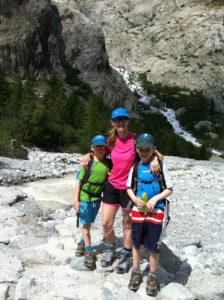 Walking near Ailefroide - summer alpine adventures