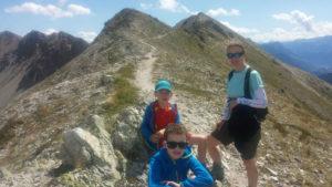 Summer alpine adventures with kids